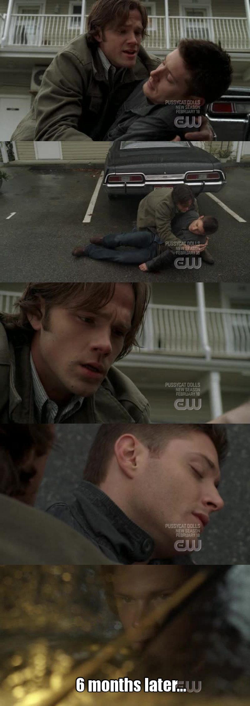 "I knew there was 11 seasons but... I was really freaking out! 😨 Poor Sam! How much time is Dean dead??? 😂 The ""6 months later"" terrified me a bit... 😢☺️"