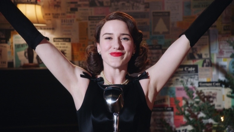 I've loved Rachel Brosnahan since House of Cards and she's wonderful here too. I loved this show!! 🖤