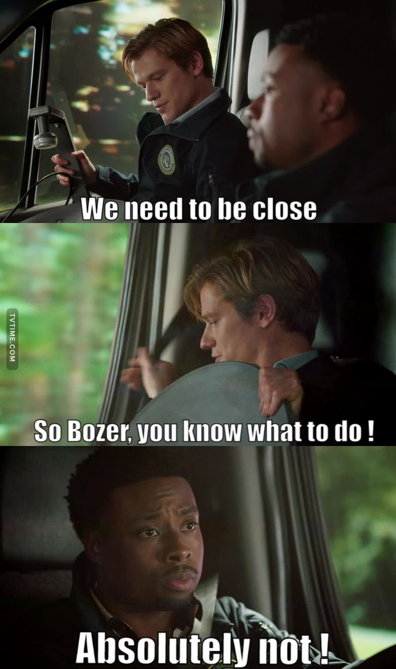 This line killed me 😂😂😂 Bozer is simply the best 😜👍🏻