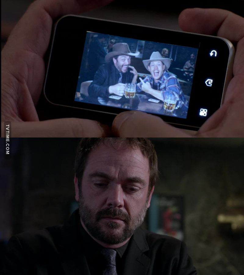 look at crowley being all sad after they break up <3