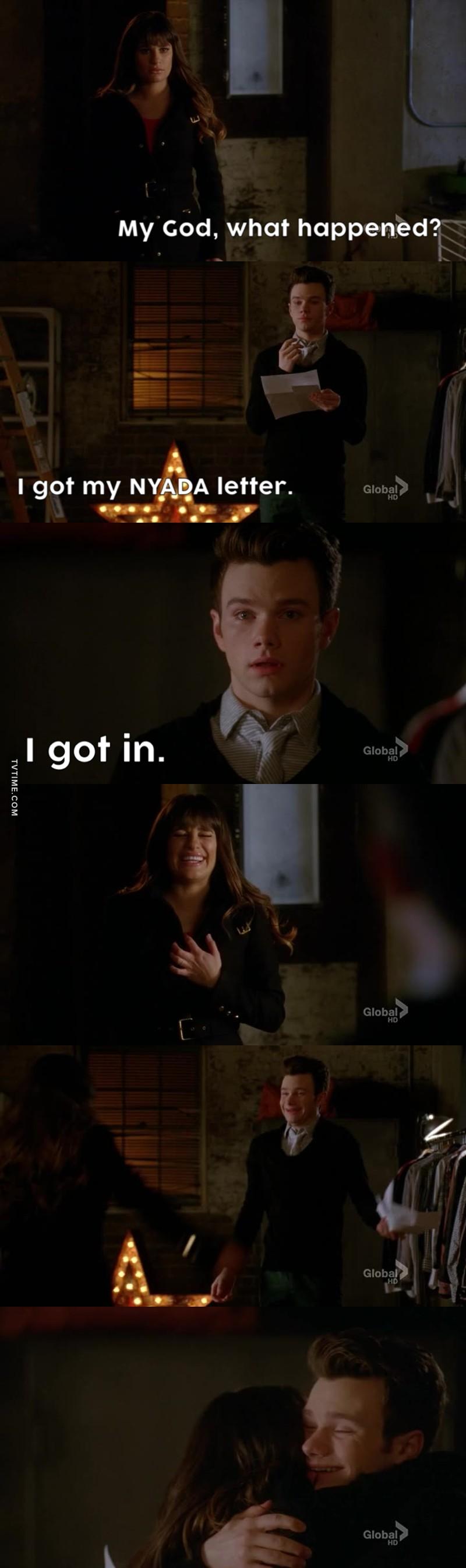 I'm so happy for Kurt. He deserve it so badly!!❤️