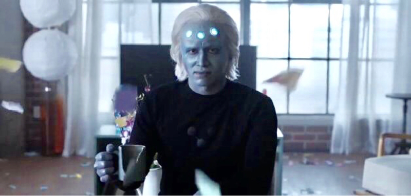 I wish I could vote for Brainiac-5 he was delightful.