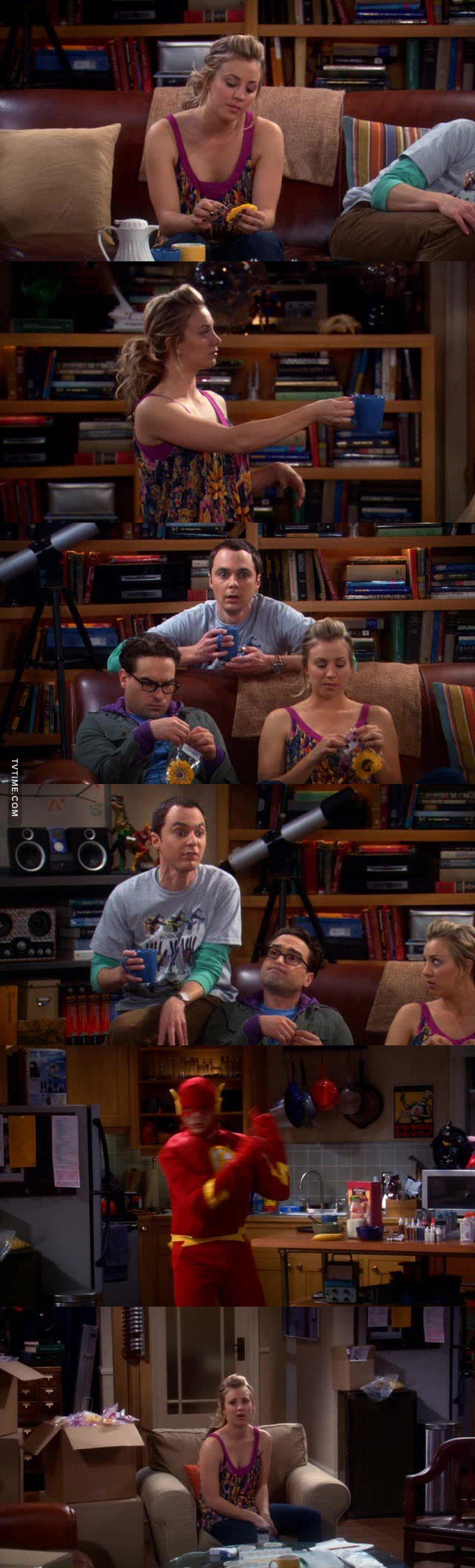 Sheldon e il caffé! 😂😂😂