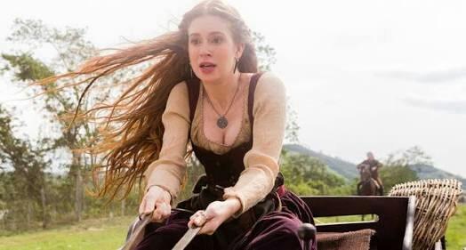 Nn acredito que a Catarina assustou o cavalo da Amália 😂😂😂👏