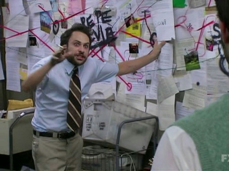 Me trying to connect clues from the past few seasons to figure out why Wes would call Dominic