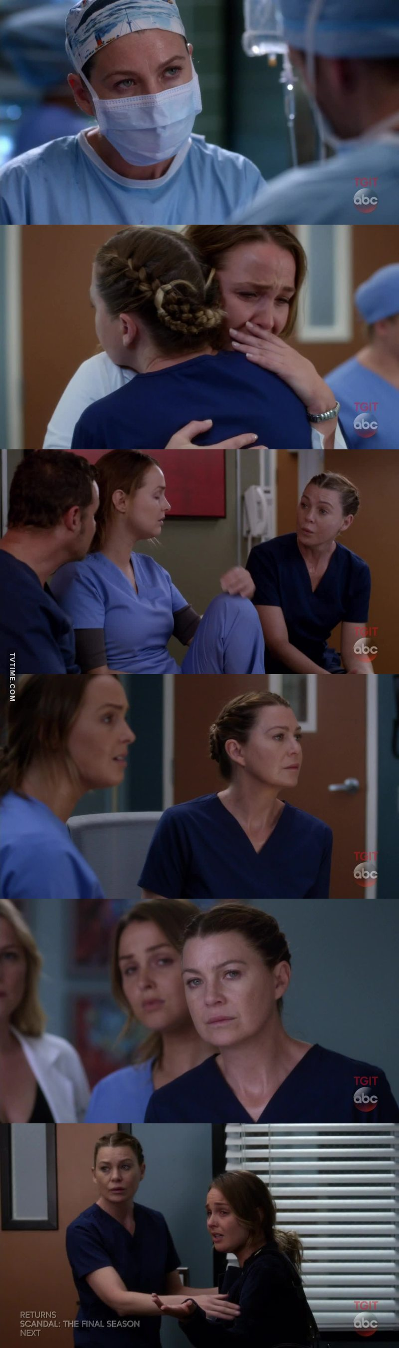 Meredith acting like a real and loyal friend ❤