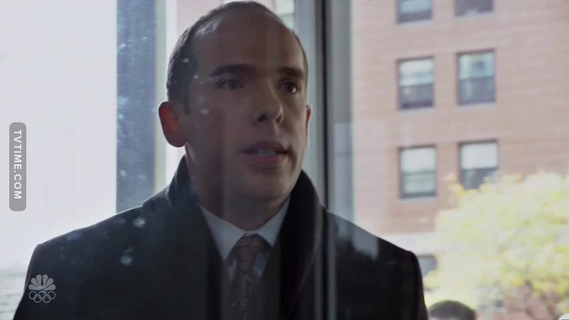 Just started watching the episode, but how badly did everyone want to slap this jackass.  I mean seriously, when faced with a situation where a woman is trapped in a revolving door, the fire department has responded to extract her, who seriously would dare to respond like this selfish prig?!  I hope Matt made him wait until every last itty bitty sliver of glass was swept up and the door was replaced before he let him loose to his precious meeting!  😡