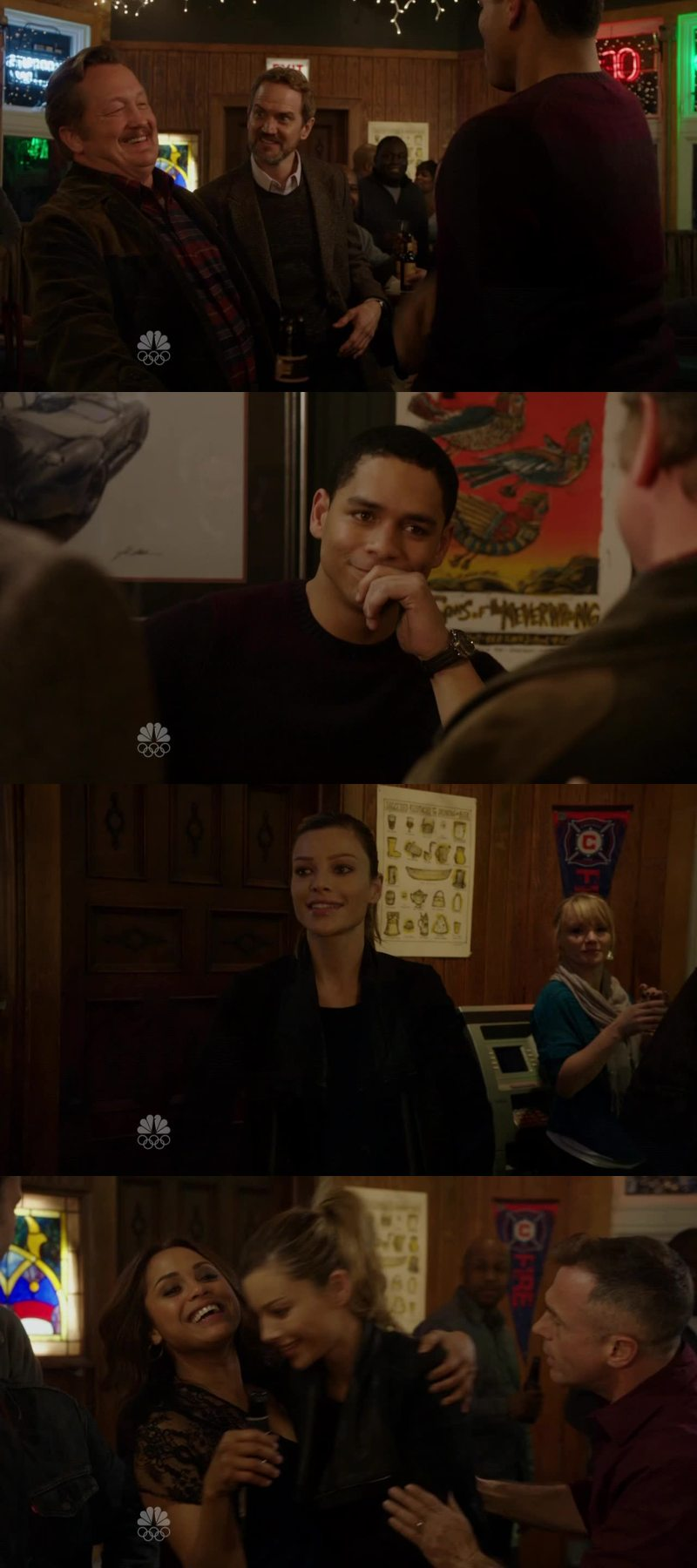 Shay is such a kind person, she is a real friend! She saved the day (or night in that case!) she's also understand more of her new partner, everyone has a story to tell. Also Katie and Otis, they need to be together, but I love Severide's face towards Otis! At the end when Peter Mills yelled that Boden made fun of him was also very funny! I think Peter Mills and Boden are amazing!