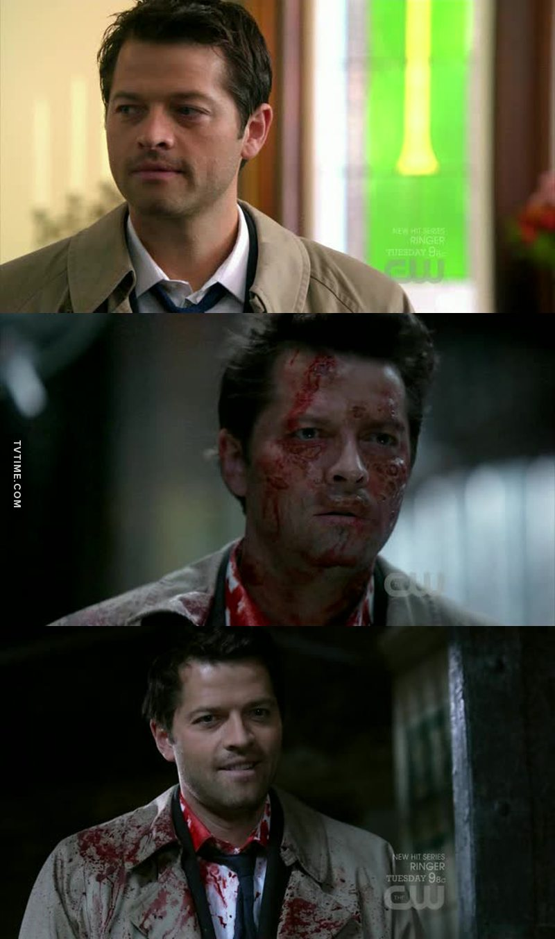 From God to Cas to Leviathan. 😯 And that in only one episode! 👏👏  He deserved an oscar!! 🕴✨❤️