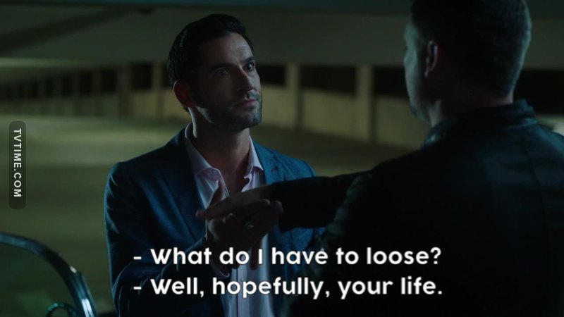 I love Lucifer's crazy eyes whenever he's offering a deal