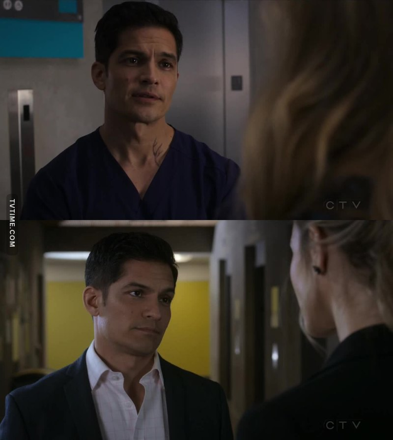 I like Dr. Melendez more and more every episode.  His character is always evolving!!