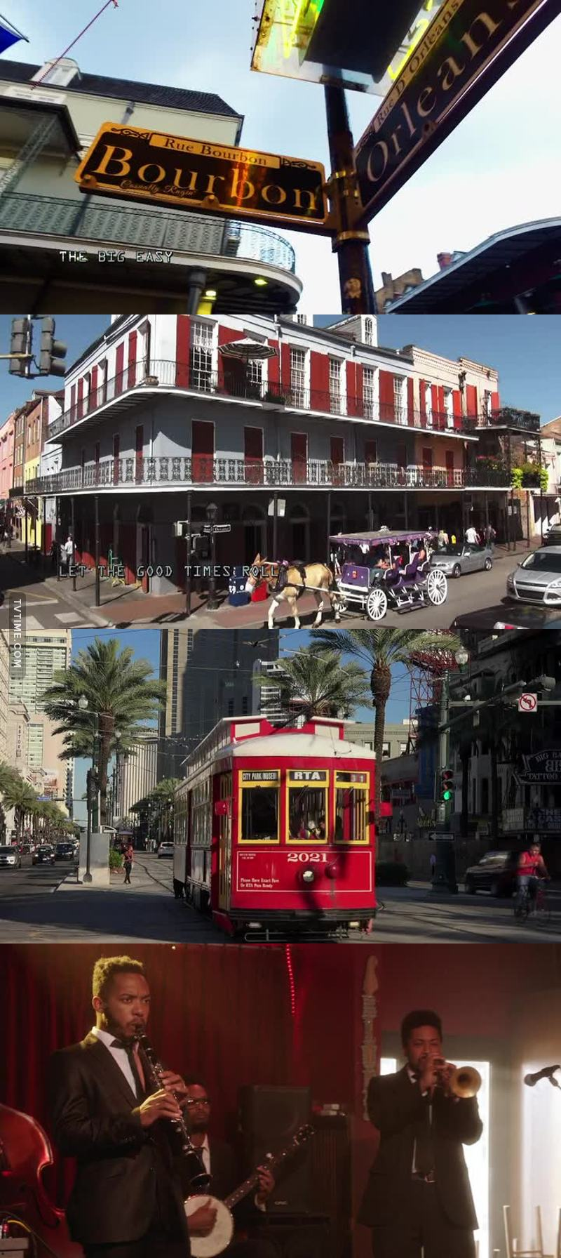 I've always wanted to visit New Orleans.  The history, the music, the people ... seems like my kind of city!