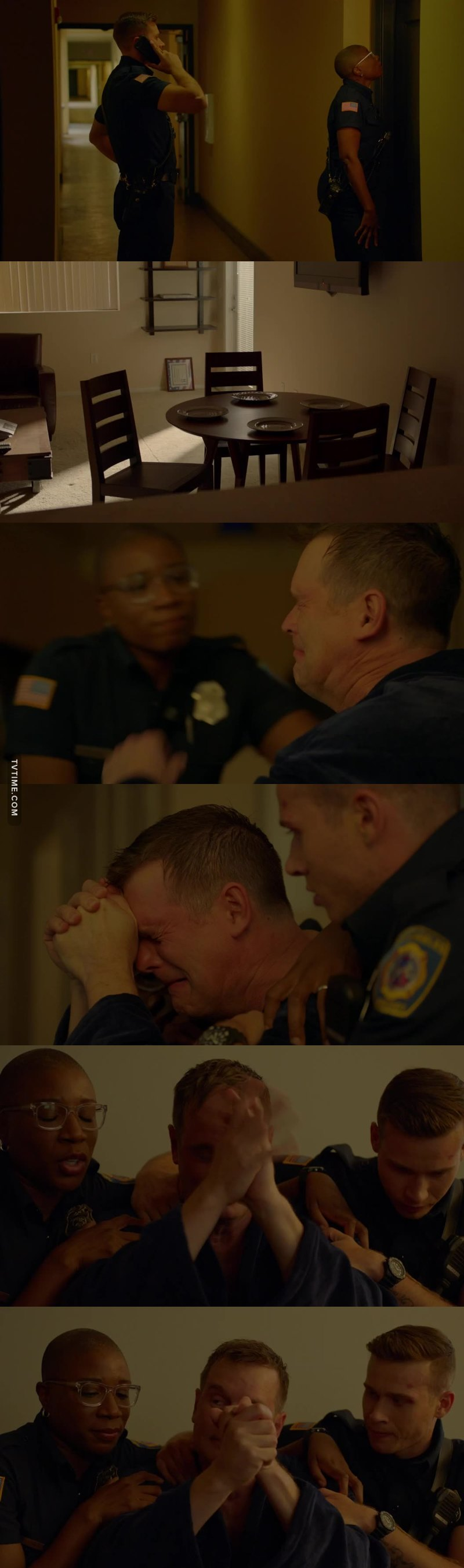 When he ask for HELP that's when I lost it. I felt so sad😢 for him but  I'm glad he has a real Team Family that loves and worry's about their Captain Bobby Nash.   Another great episode 👍 ❤️