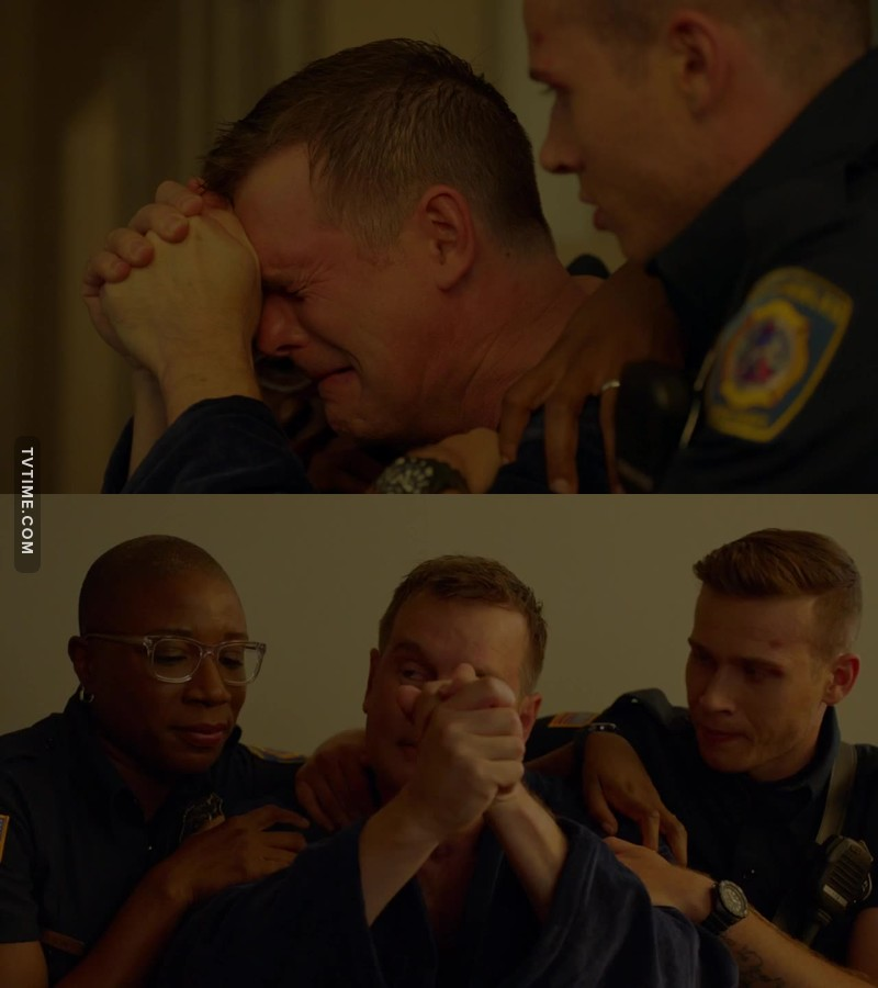 He broke my heart when he started crying ):