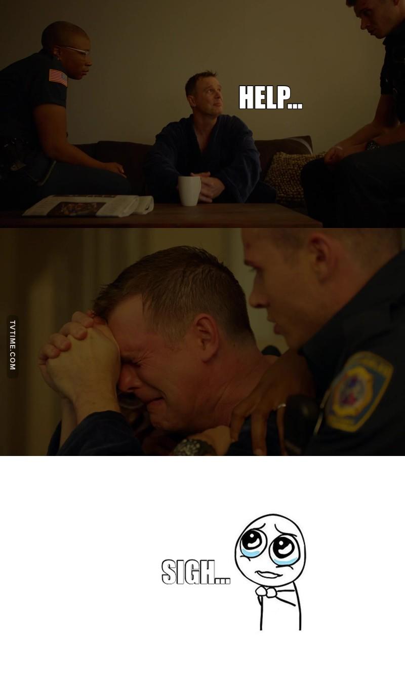 This scene really broke my heart💔💔💔 Poor Bobby!😭😭😭
