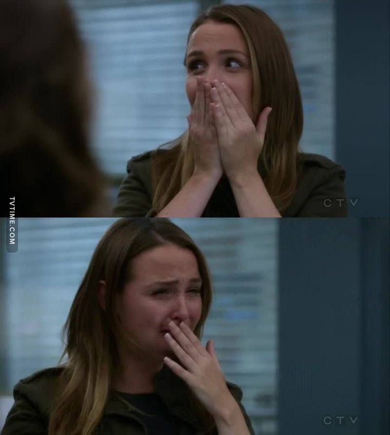 Me watching all the Grey's episodes