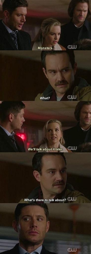 Dean's face 😆