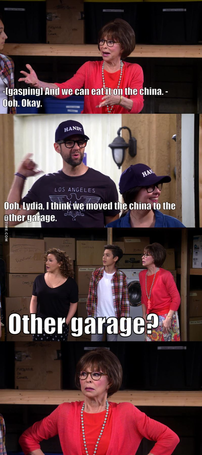 """The other garage?!"" 😂"