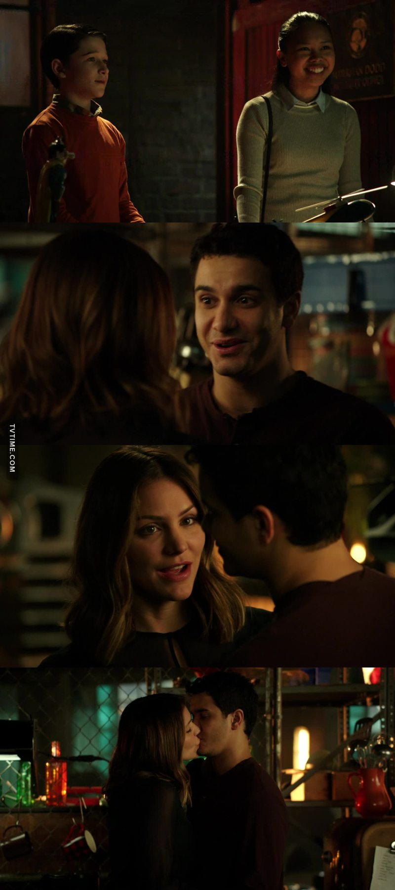 I love Allie, I want her instead of Florence in the team. 😍 And my little Ralphy boy, little Genius in love.😀