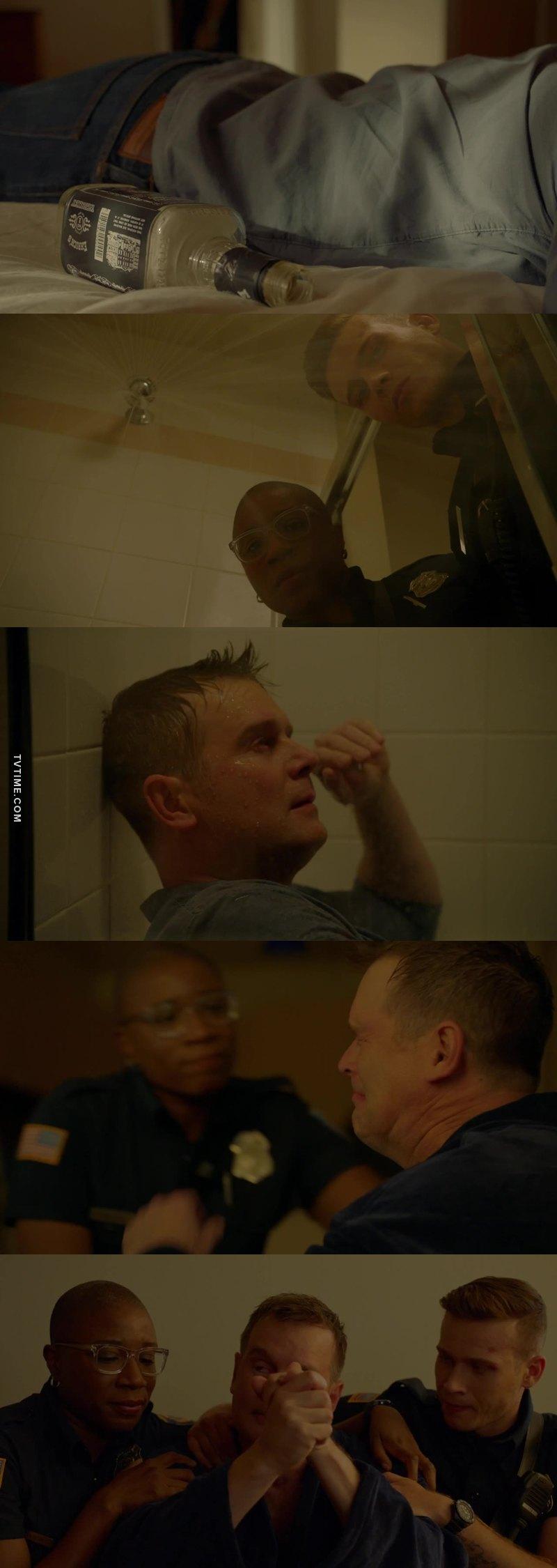 Je veux connaître l'histoire de Bobby!!!! Il m'a tellement touché dans cette scène! Cette épisode c'était un truc de dingue!!