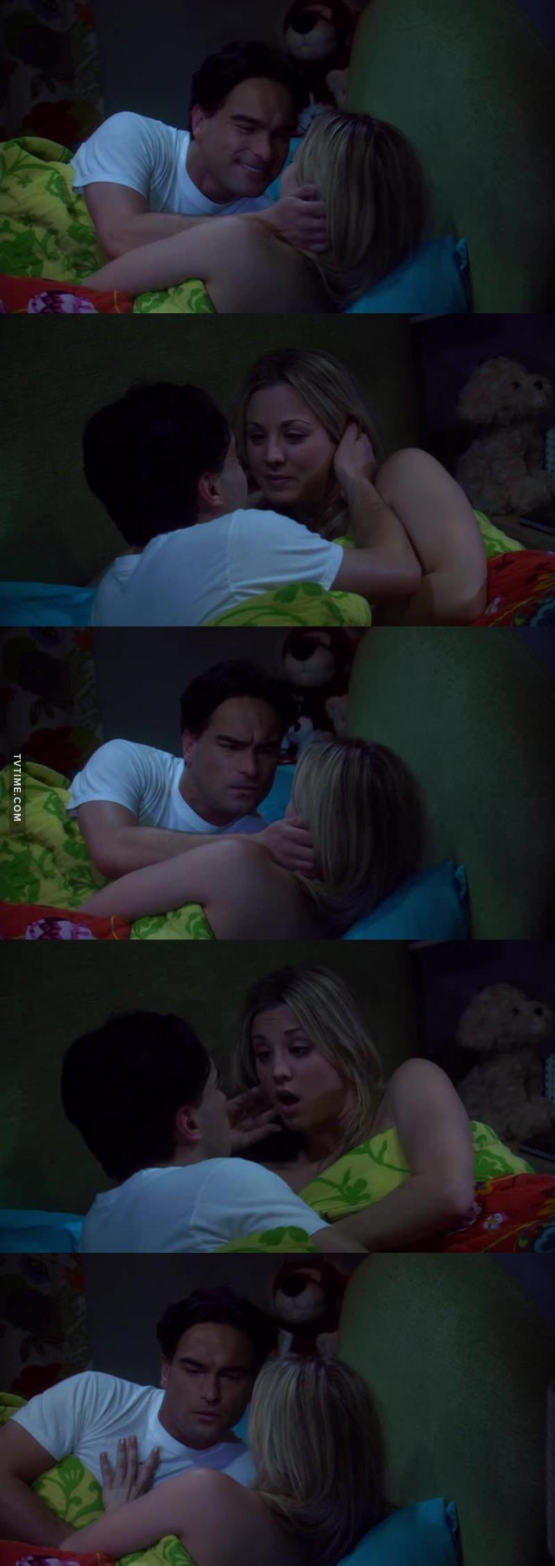 """""""- Ti amo, Penny! - Ti ringrazio! - Ma figurati!""""  Rido per sempre! 😂😂😂🔝"""