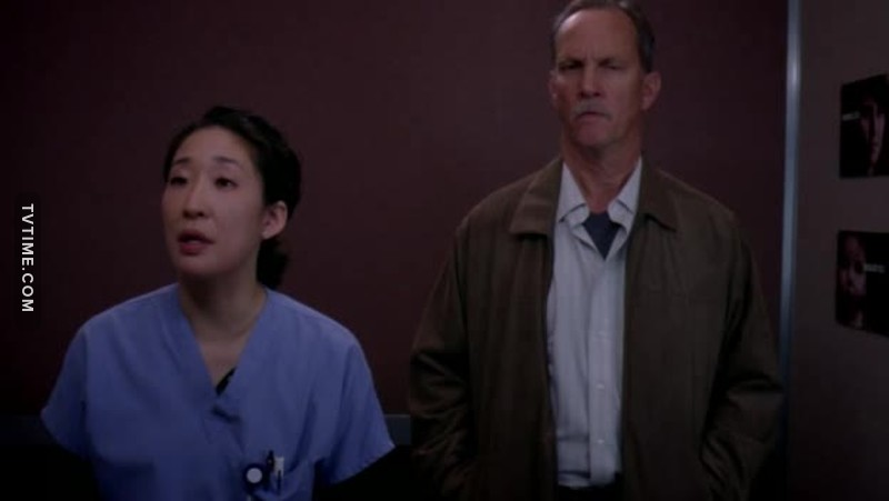 Everytime that guy got near Cristina my heart stopped 😧