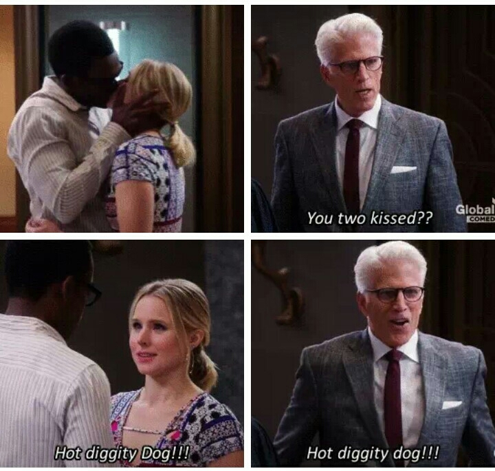 It took chidi 82 minutes to pick a hat but 0.1 seconds to realise that he loves Eleanor and walked over to kiss her.. I'm CRYING😍😭