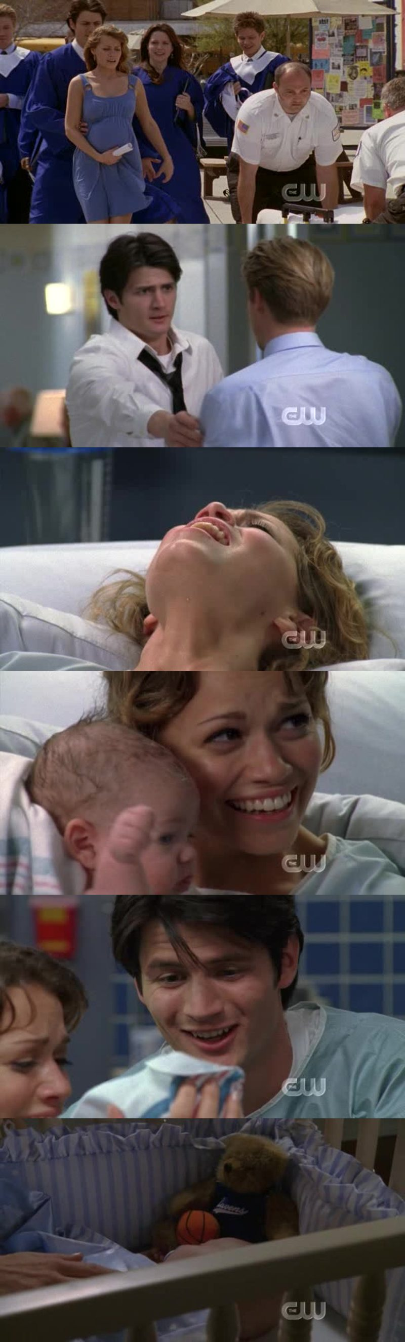 Naley are gonna be wonderful parents ! 💜