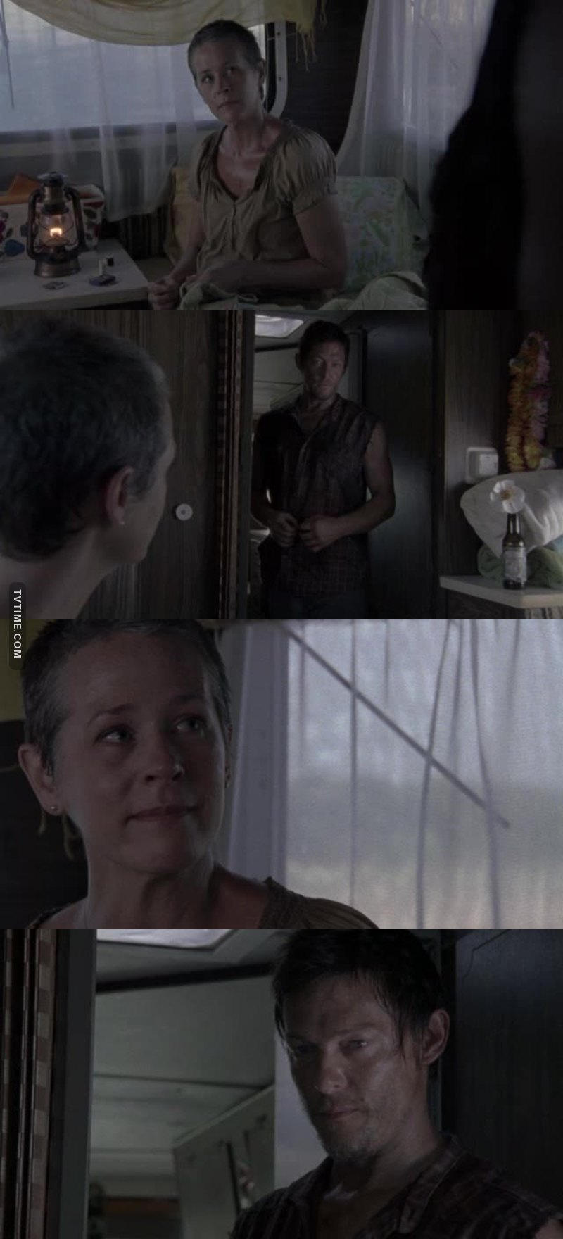 Carol: A flower? Daryl: It's a Cherokee rose. The story is that when american soldiers were moving Indians off their land on the trail of tears the Cherokee mothers were grieving and crying so much 'cause they were losing their little ones along the way from exposure and disease and starvation. A lot of them just disappeared. So the elders, they said a prayer; asked for a sign to uplift the mothers' spirits, give them strength and hope. The next day this rose started to grow right where the mothers' tears fell. I'm not fool enough to think there's any flowers blooming for my brother. But I believe this one bloomed for your little girl.
