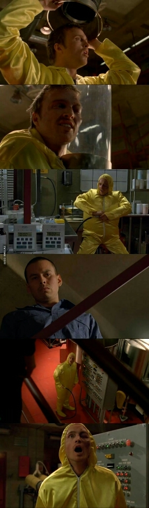 Jesse Pinkman in the house 😂😂