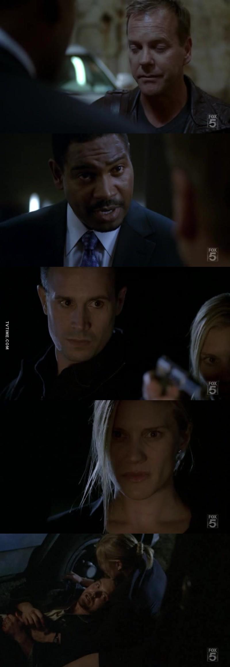 Jack de retour comme agent il n'attendait que ça. Cole doit vraiment tomber de haut après ce qu'il vient d'apprendre sur Dana.