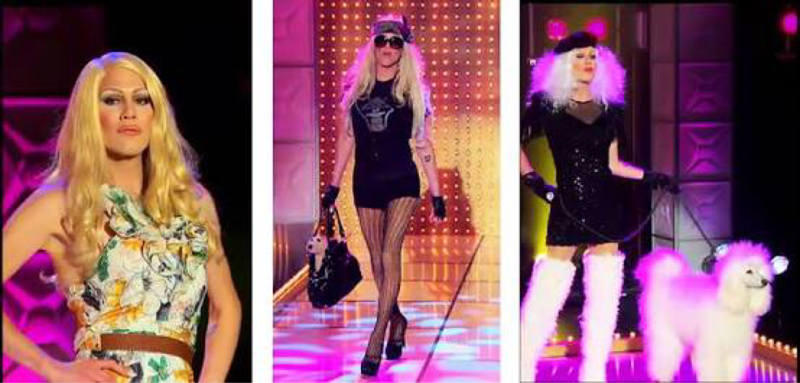 Sharon destroyed the runway!!! I do have an issue with this episode however, how in the hell did Latrice get eliminated yet Phi Phi remains???? I don't get it, Latrice deserved to be in the top three.