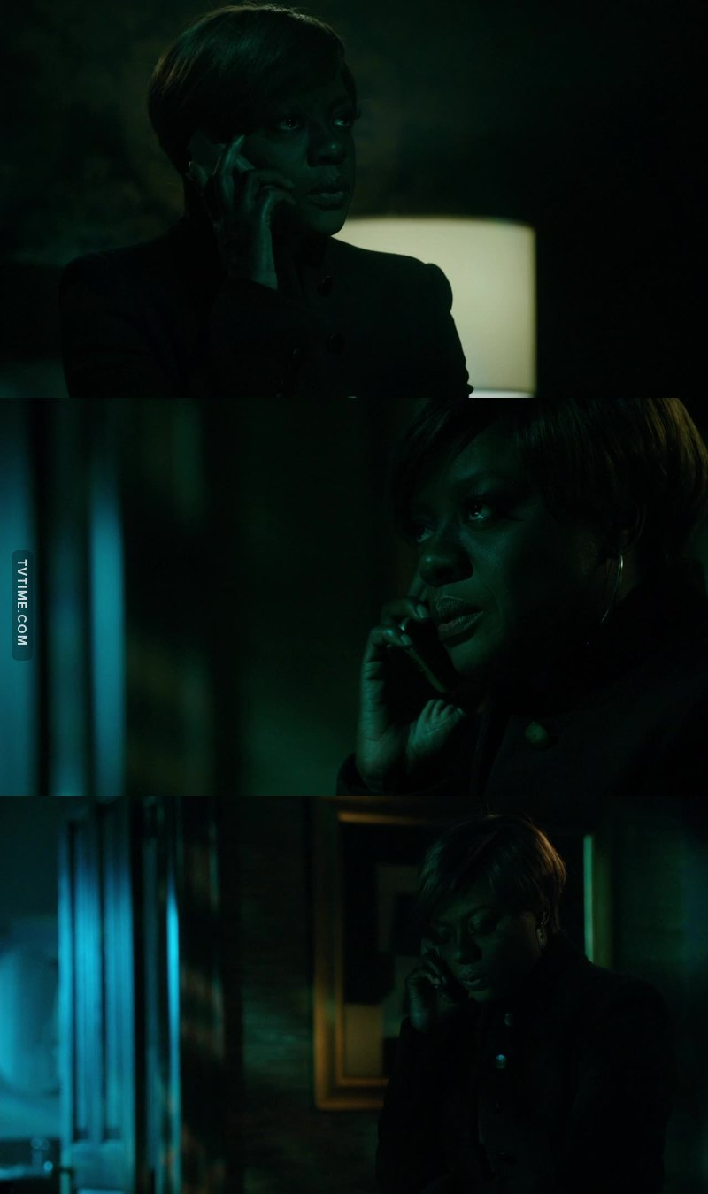All that speech to Sam at the phone makes sense know... That's how to get away with murder 👍🏼