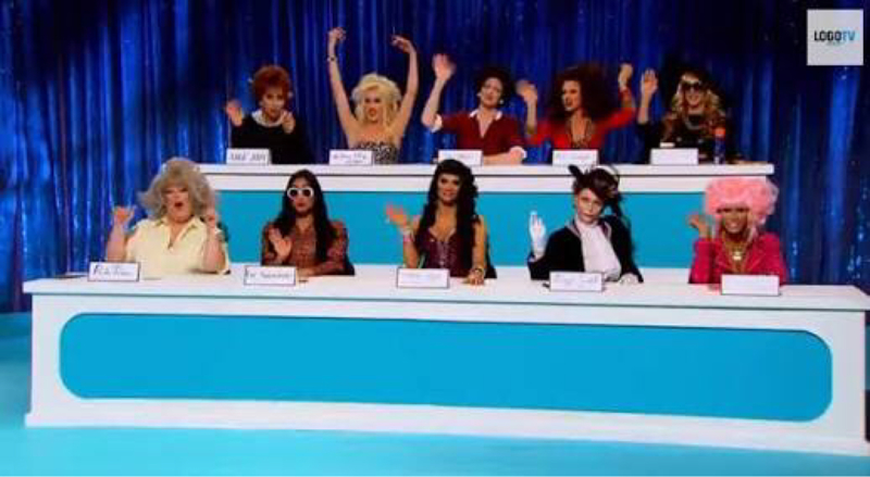 It was hard to pick between Judge Judy, Anna Nicole and Maggie Smith... Adore made me laugh the most.