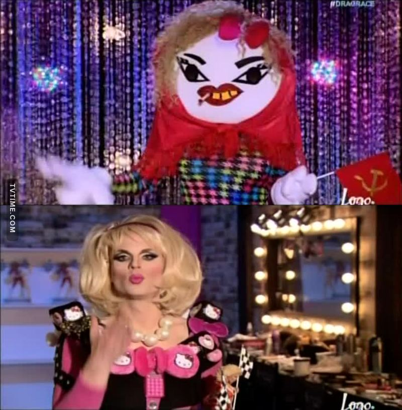Katya is the winner in my heart!! <3 This elimination was really f*cking unfair!
