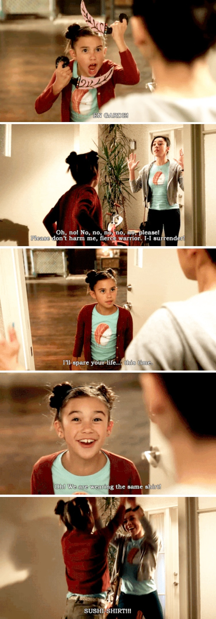 They're the cutest things on this show!!! 😊🤗