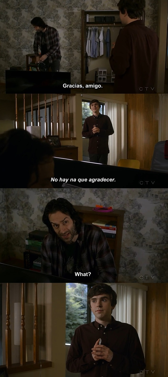 """""""Gracias, amigo."""""""