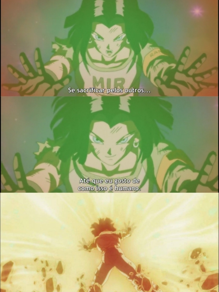 Deuszessete mantendo a tradição da mitagem, pior decisão do Akira foi tê-lo deixado de fora da obra depois da Saga Cell. Um dos melhores personagens do Torneio (talvez o melhor) e claro um dos melhores personagens de DBS.