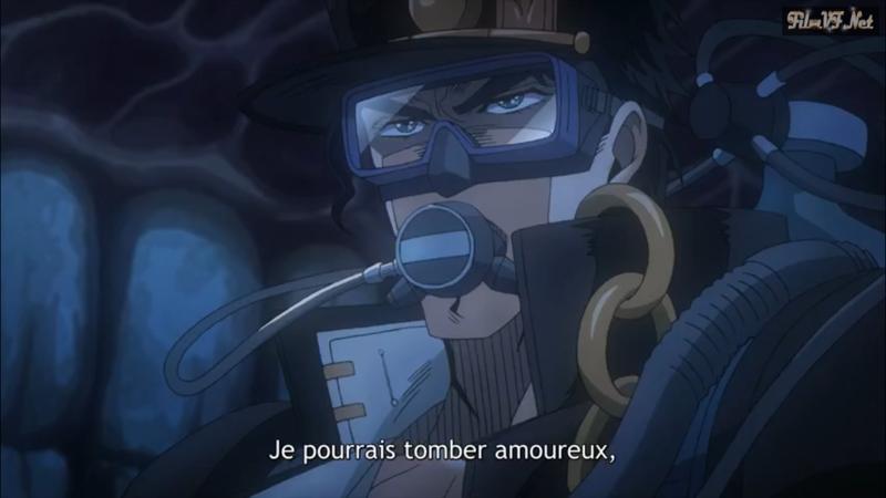 Mdr c'est vrai que ça ressemble bien à Jotaro de dire ça 😂