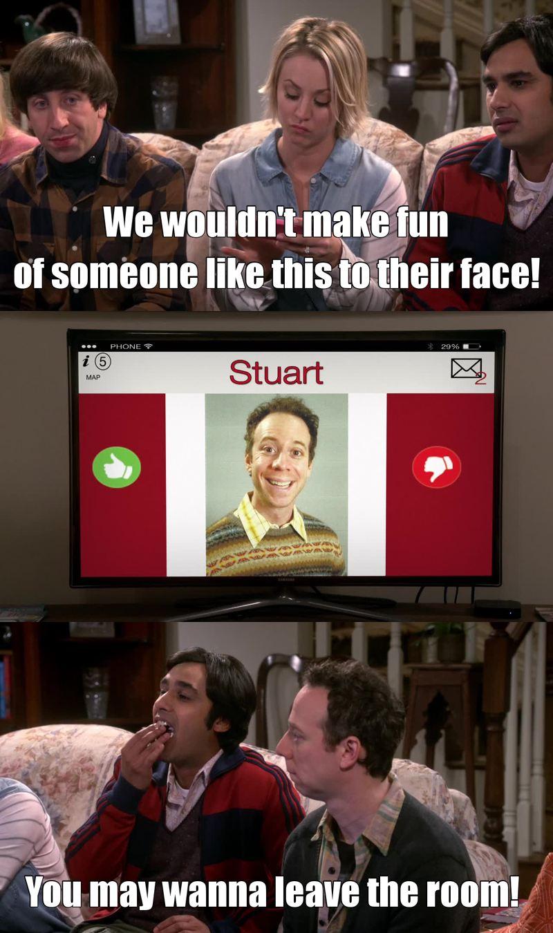 Poor Stuart!