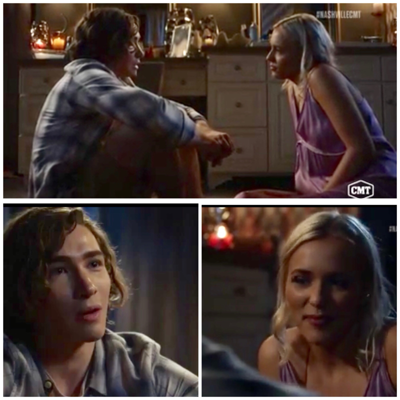Maddie has kindness and Compaction just like her Mom did. She stayed  right beside him all the way till he was himself again.  Just glad it turned out ok.  Good episode.❣️👍✔️