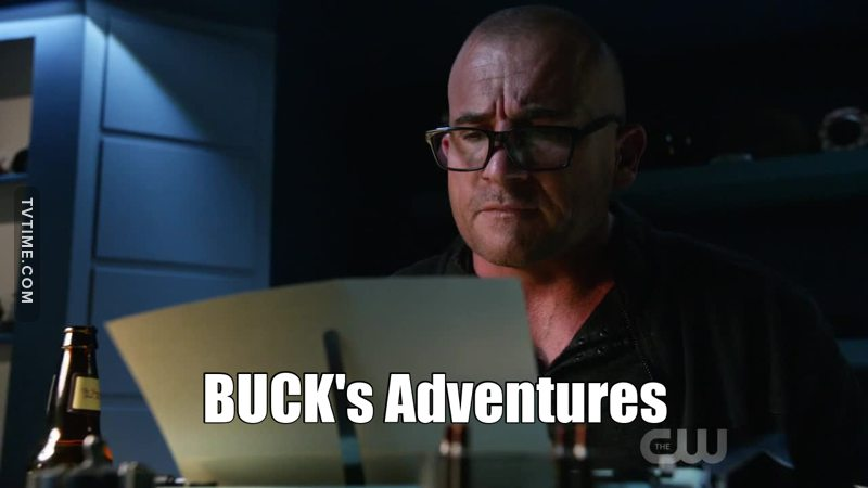 We want a new spin-off:  BUCK's Adventures!