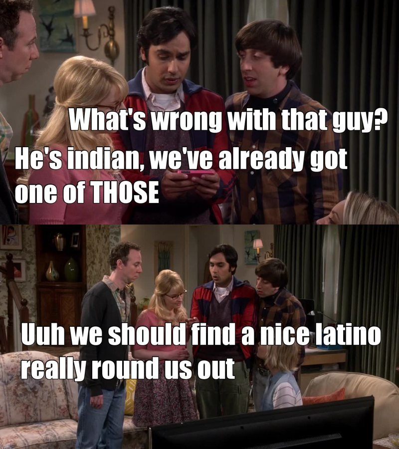 ahahahaha Raj is the best!!!