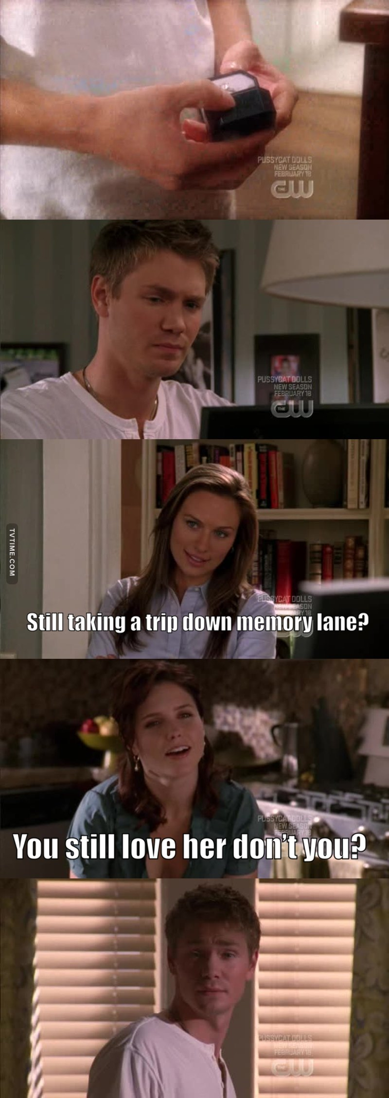 Oooh poor Lindsay, got herself stuck in Tree Hill's drama 🤷🏻♀️😂