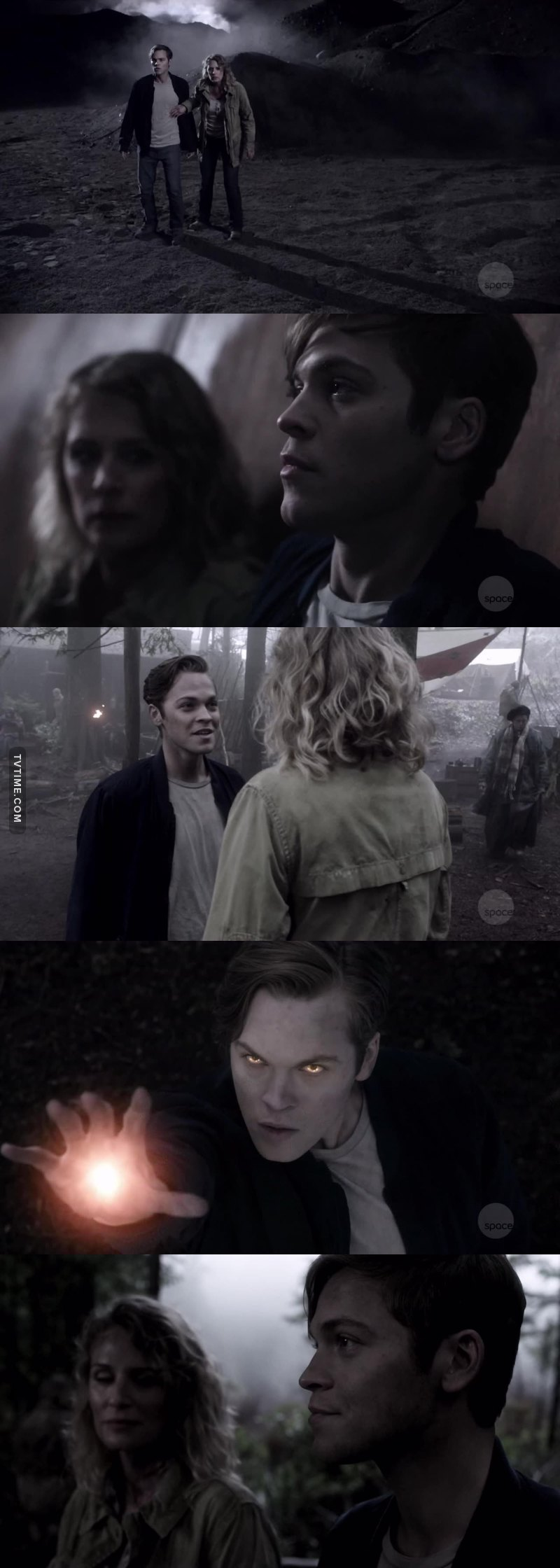 Jack is just too precious! 'Sorry I don't run,that is not what Sam and Dean would do' The way Mary looked at him, I think she's gonna adopt him.