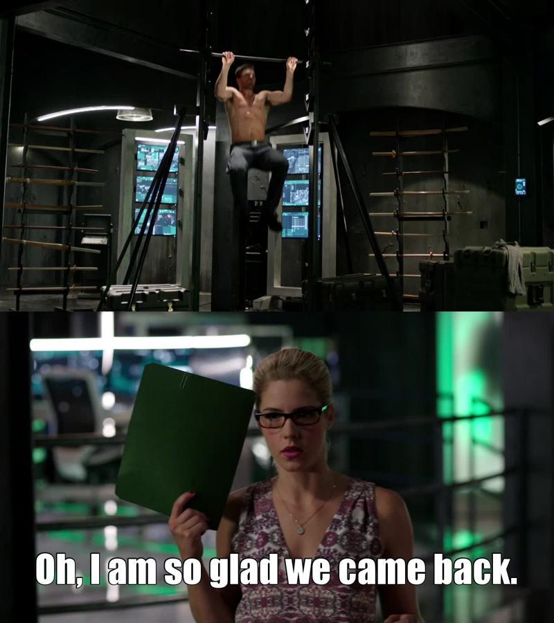 We too, Felicity!