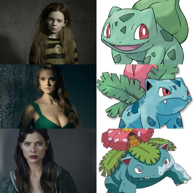 Poison Ivy or Ivyssaur?