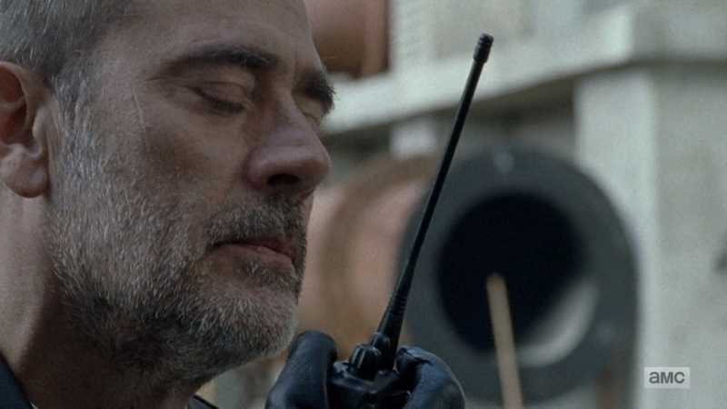I can't believe I'm saying this but... Negan's starting to make some sense