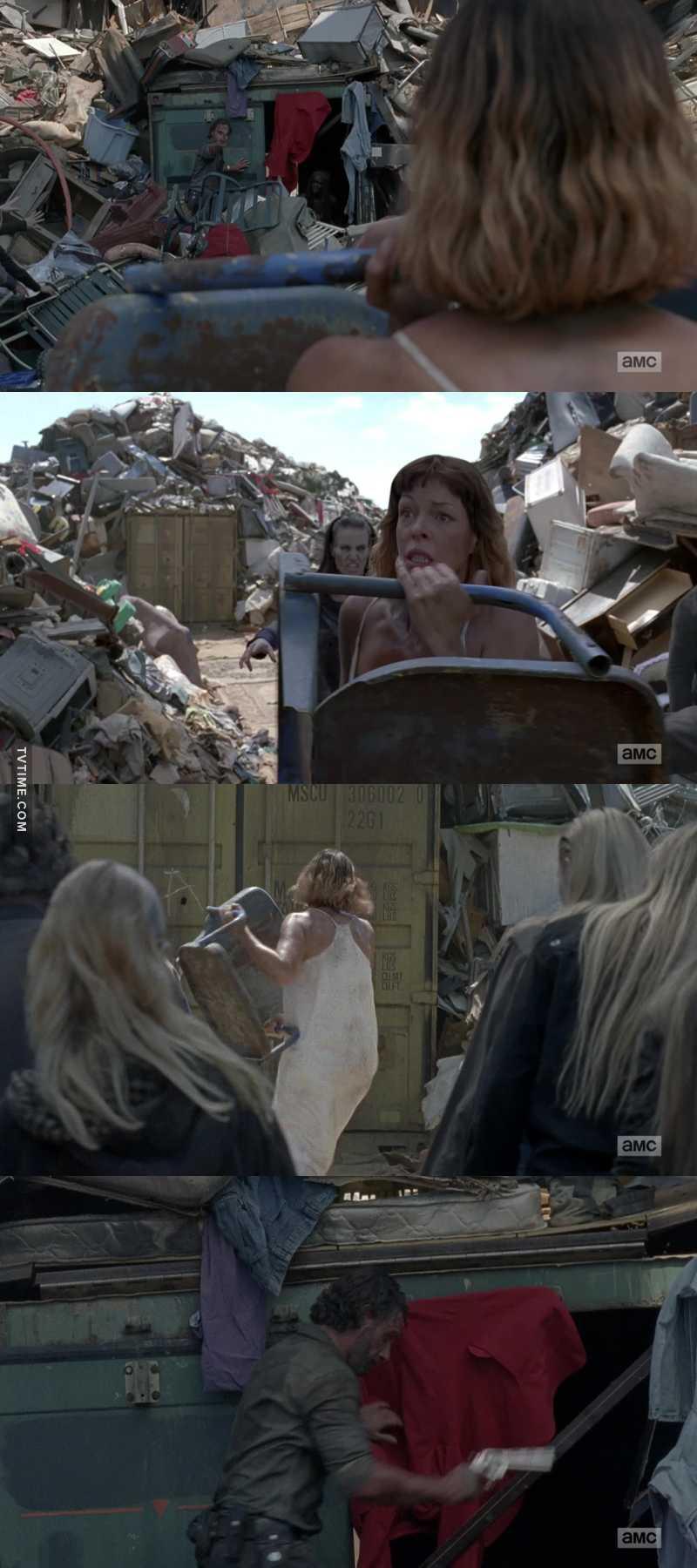 Carl: Be better Rick: