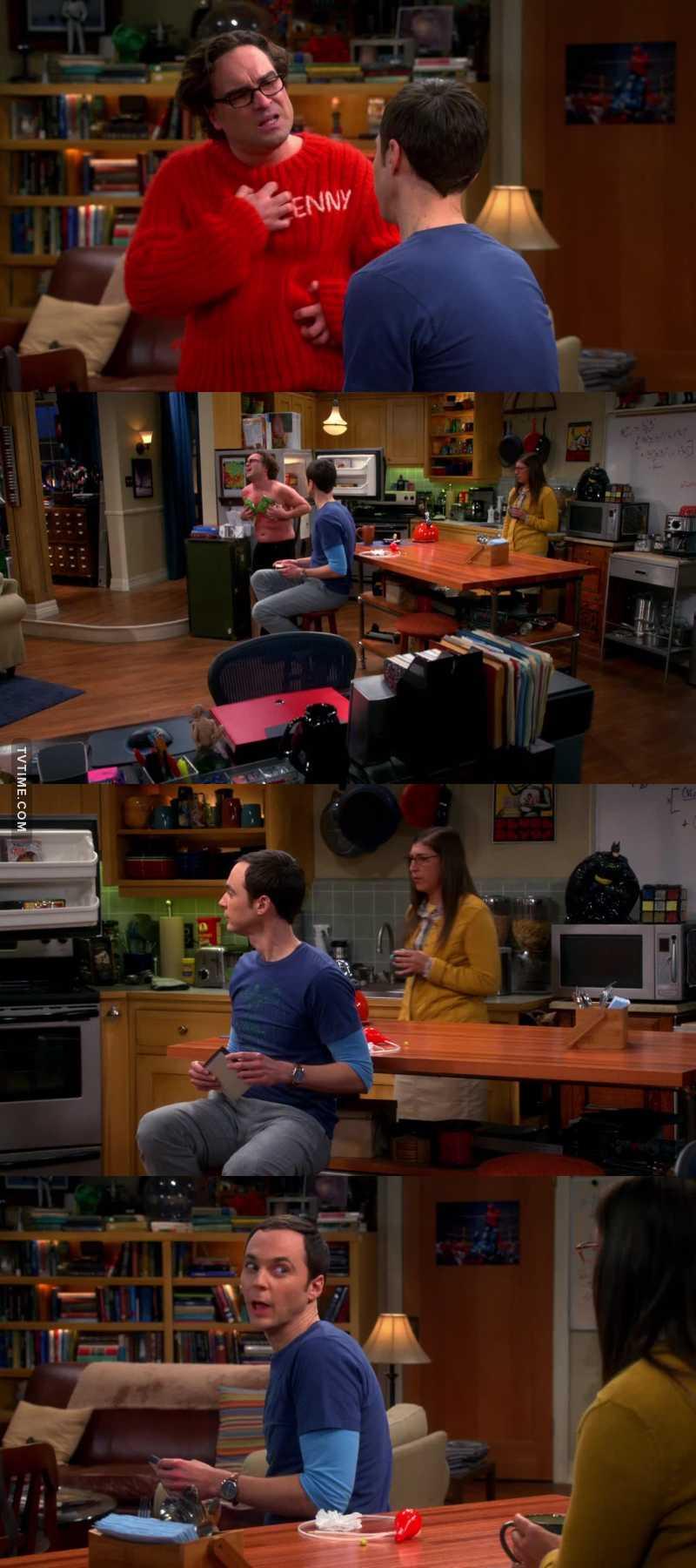"""- Sheldon sei stato diabolico. - Lo so.""  😂😂😂😂"